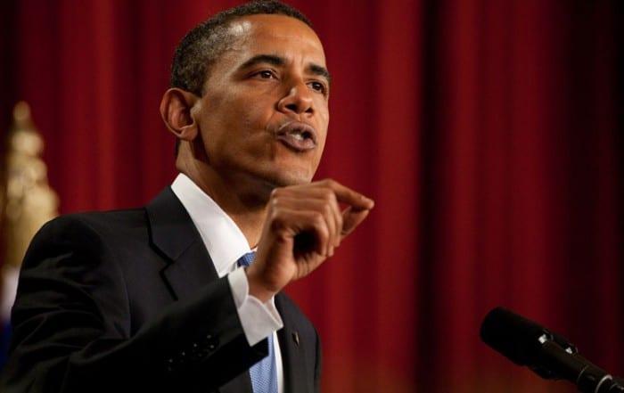US President Barack Obama speaks at Cairo University in June 2009